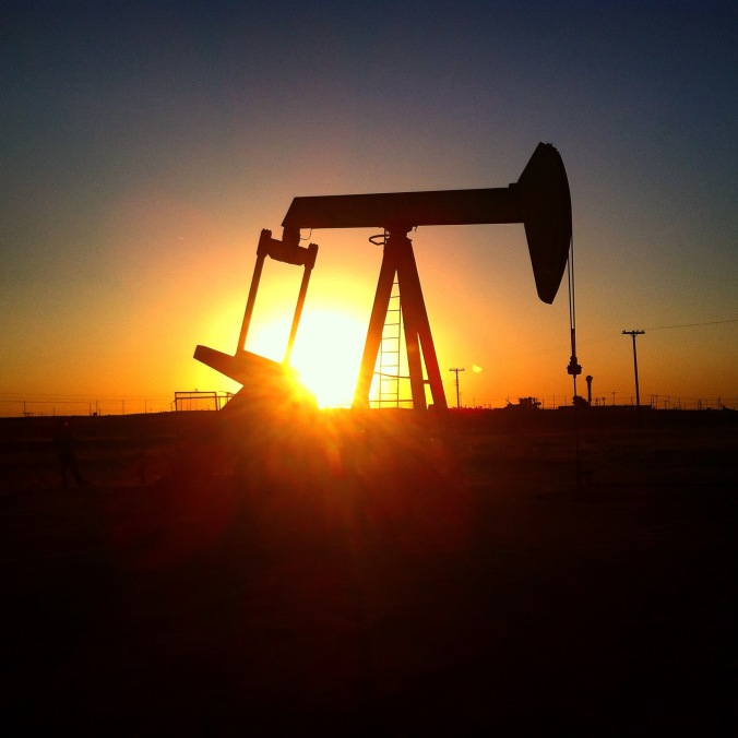 Bakersfield Crude Oil Well